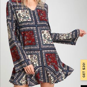 Boho LuLu's Multi-Color Dress